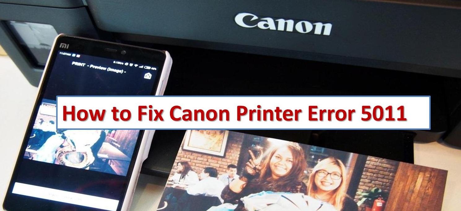 Canon printers Error Code 5011