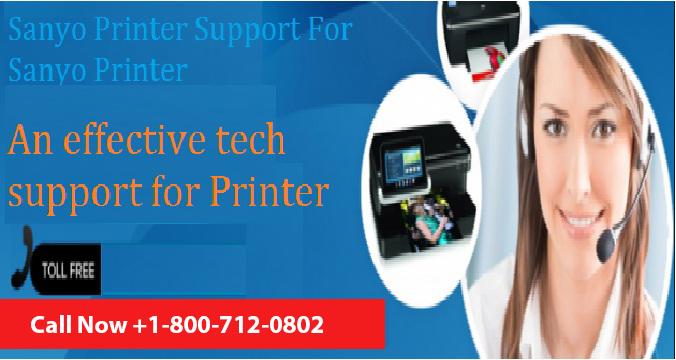 Sanyo Printer Support
